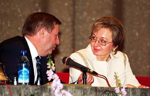 с Председателем Государственной Думы РФ Г.Н. Селезневым