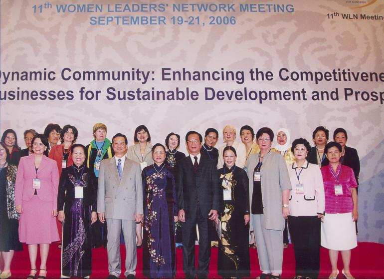 Встреча Сети женщин-лидеров стран АТЭС, Ханой, Вьетнам 2006 (2)