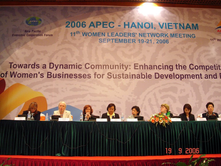 Встреча Сети женщин-лидеров стран АТЭС, Ханой, Вьетнам 2006
