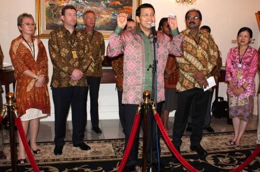 Встреча друзей Президента Индонезии