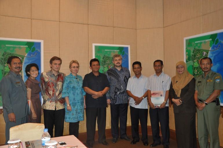 Встреча с представителями администрации острова Бинтан