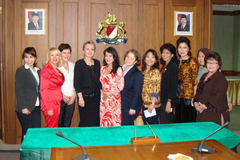 Встреча с представителями IWAPI (Ассоциацией деловых женщин Индонезии