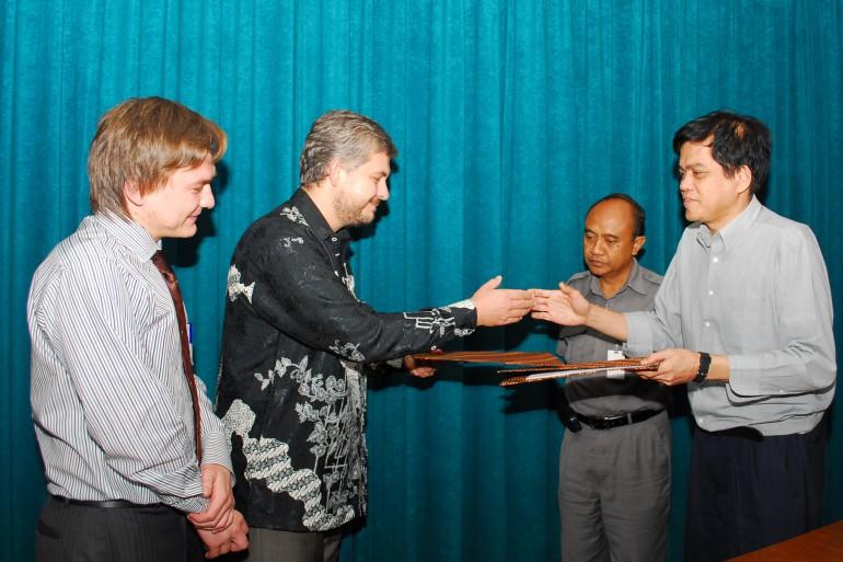 Подписание соглашения о сотрудничестве с BKPM (Комитет по инвестициям) Бинтан, Индонезия