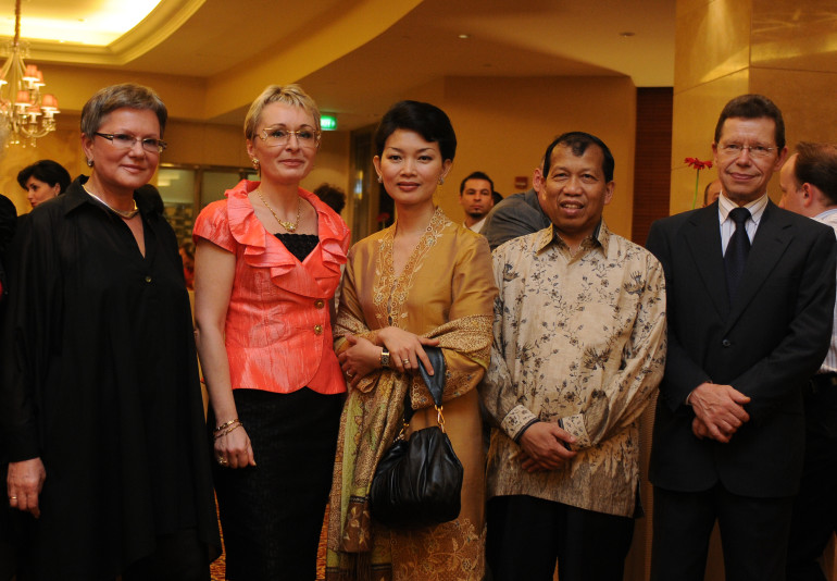 Церемония открытия Представительства в Джакарте