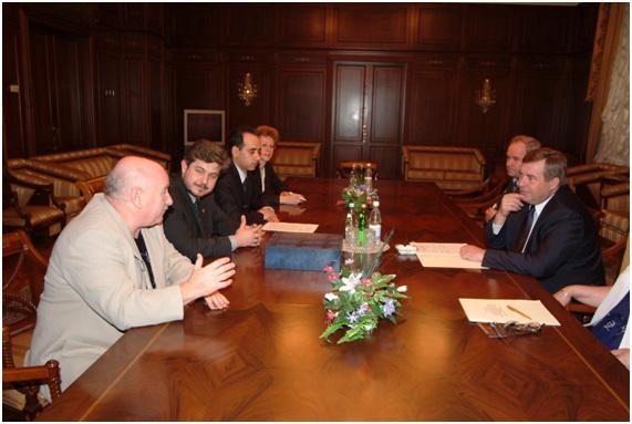 встреча с Председателем Госдумы РФ Селезневым Г.Н.
