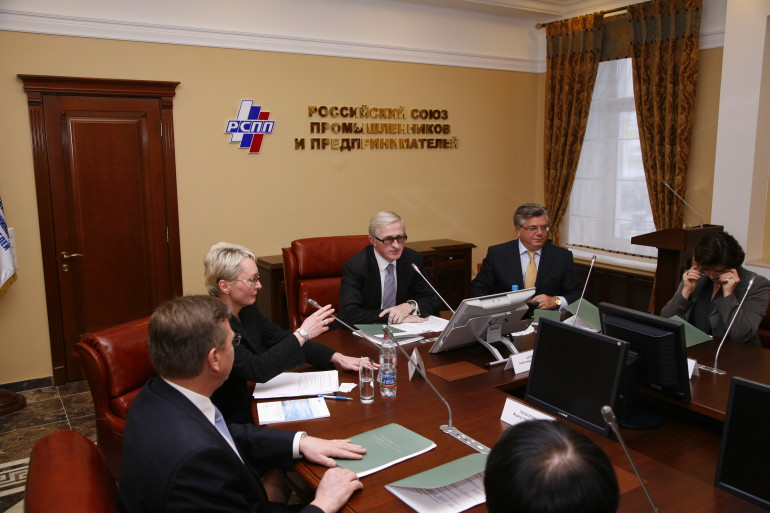 на заседании Общественной палаты РФ