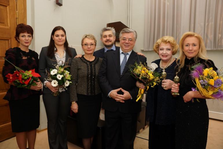с А.В. Мурычевым и Т.В. Дорониной