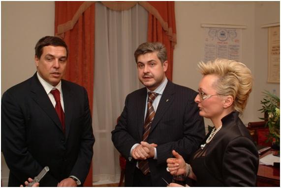 с Генеральным директором РБК-ТВ А.М.Любимовым