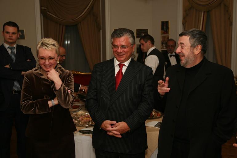 с Мурычевым А.В., Вице-президентом РСПП и режиссером Лунгиным П.С