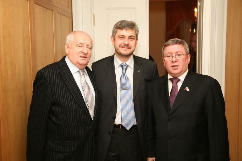 с М.А. Захаровыми и А.П. Торшиным