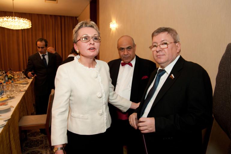 с  Председателем Совета Федерации РФ Торшиным А.П.
