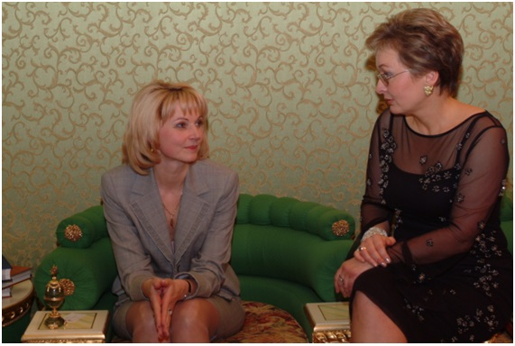 с Председателем Счетной Палаты РФ Голиковой Т.А