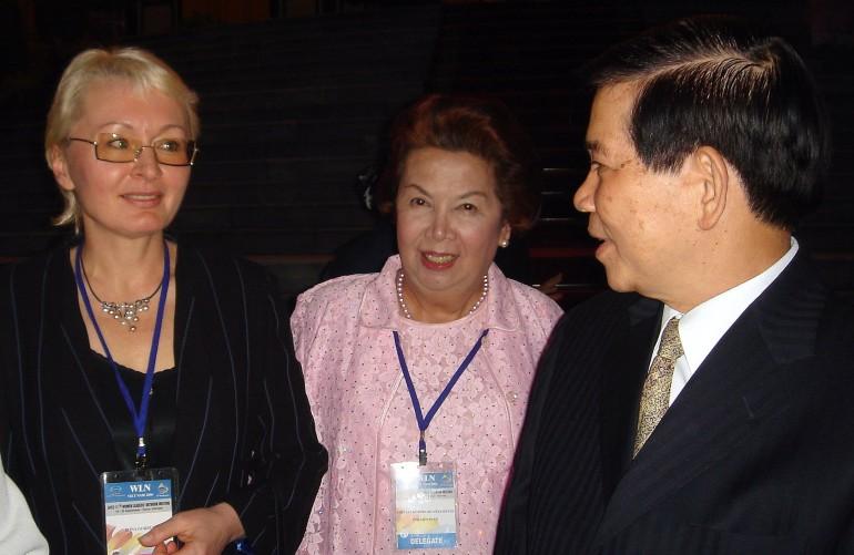 с Президентом республики Вьетнам г-ном Нгуен Мин Трие
