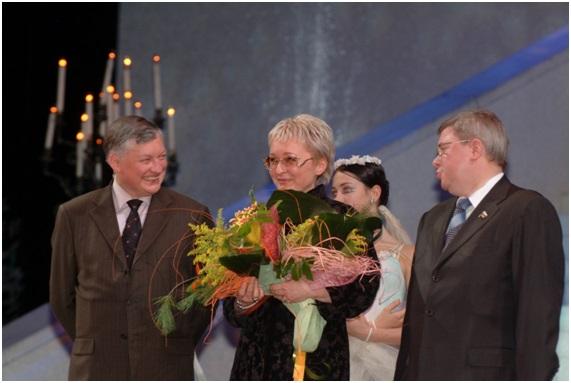 с Чемпионом мира по шахматам Анатолием Карповым