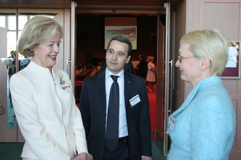 с г-жой Квентин Брис, Генерал-губернатором Австралии