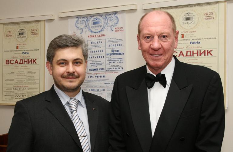 с г-ном Изделом Невилом Президентом и Генеральным директором The Coca-Cola Company (2)