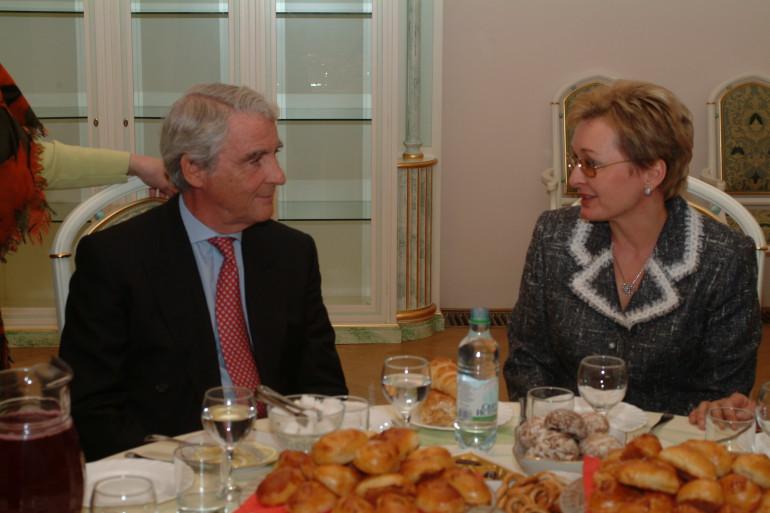 с г-ном К. Бауманом, Президентом Наблюдательного совета Siemens AG