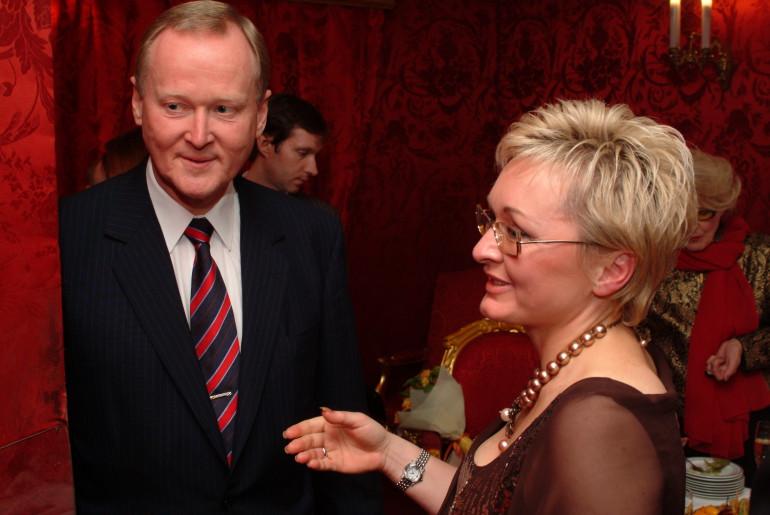 с г-ном Ляйфом Остингом Вице Президентом Scania AG