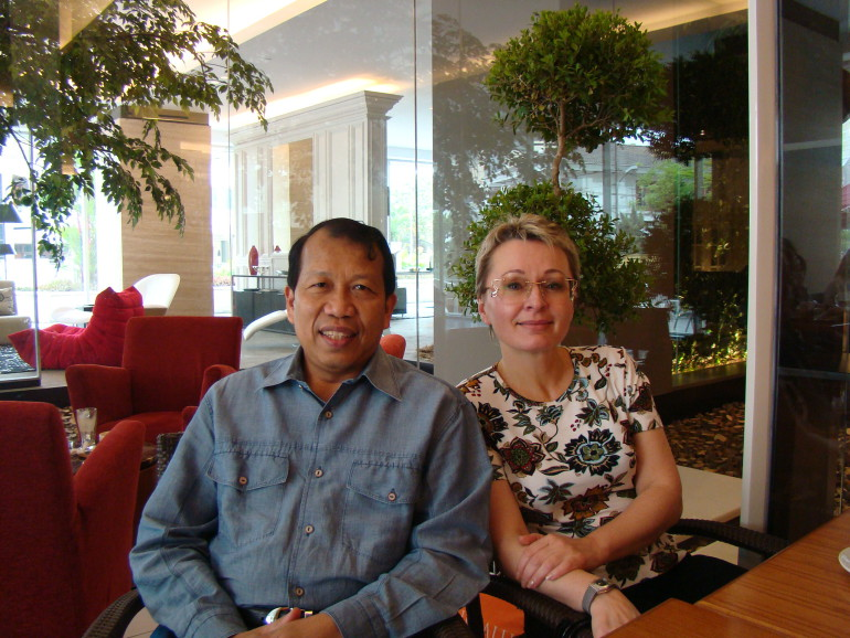 с д-ром Хамидом Авалудином, Министром юстиции республики Индонезия