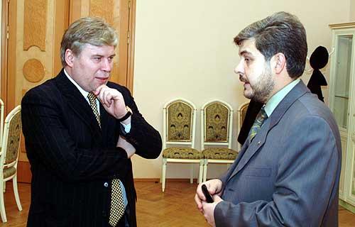 с известным российский адвокатом, Председателем Общественного совета при МВД РФ А.Г. Кучереной