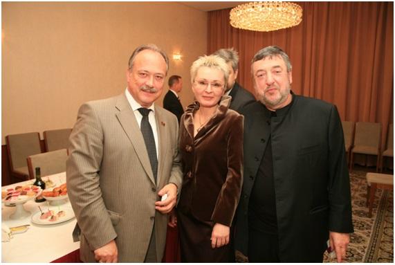 с  лауреатом Каннского кинофестиваля, Народным артистом России Лунгиным П.С