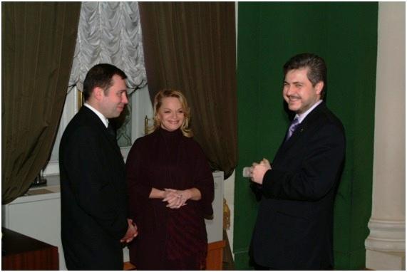 с  народной артисткой России Л.А. Долиной